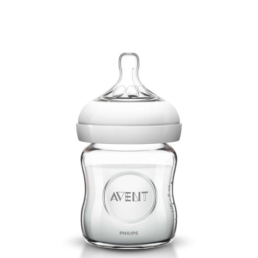 Philips Avent Natural Feeding Bottle Glass, 120 Ml Pack of 1