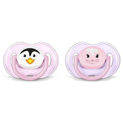 Philips Avent Philips Avent Soother 0-6M Months Animal, Pack Of 2