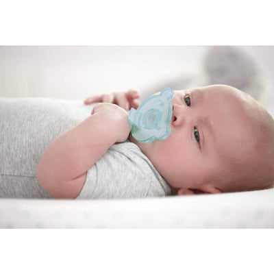 Philips Avent Soothie 0-3 Months, Blue Green Pack of 2