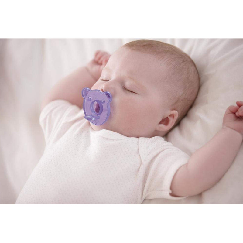 Philips Avent Soothie 0-3 Months, Purple Pink Pack of 2