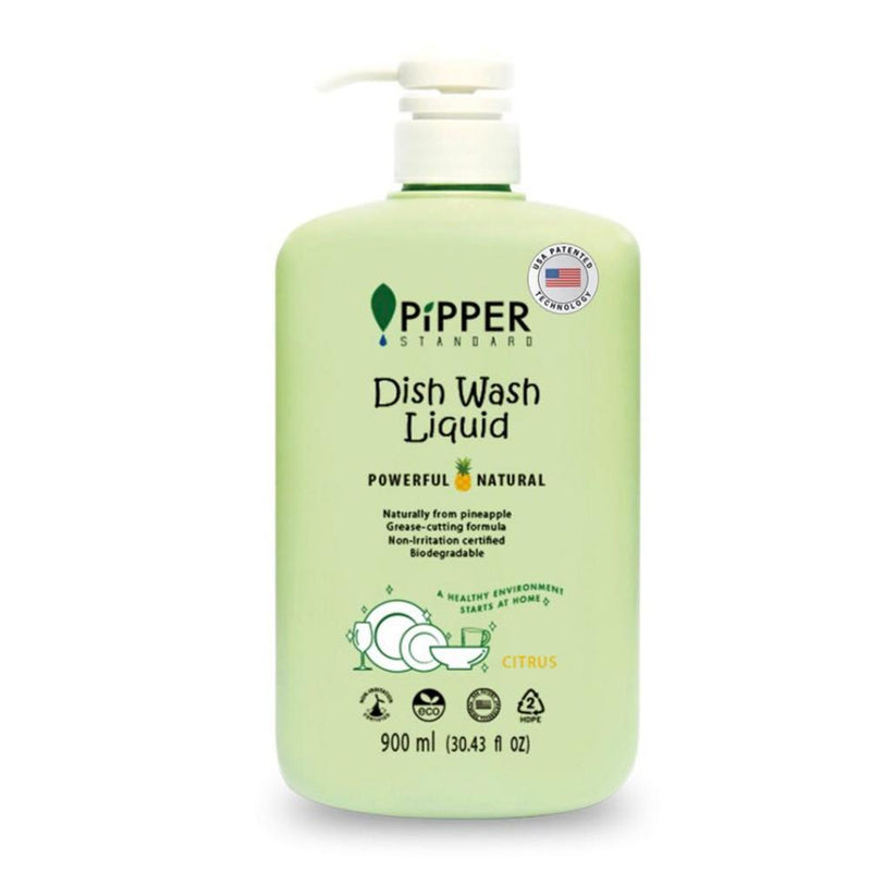 Pipper Standard Dishwashing liquid soap Citrus Scent, 900Ml