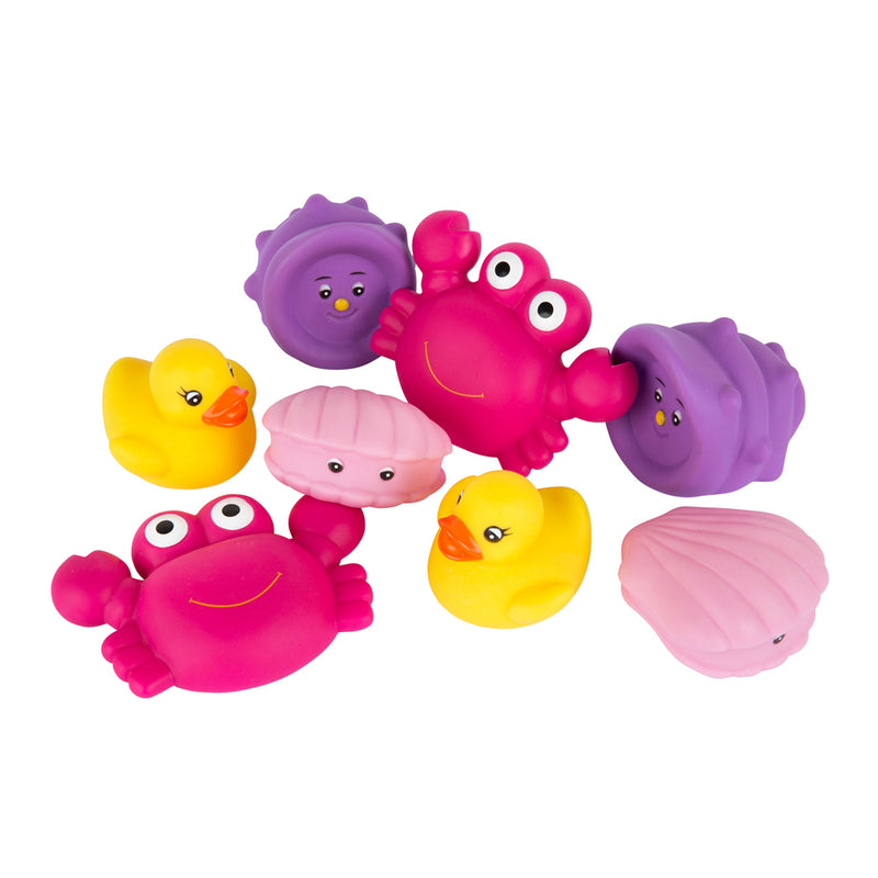 Playgro Floating Sea Friends Pink