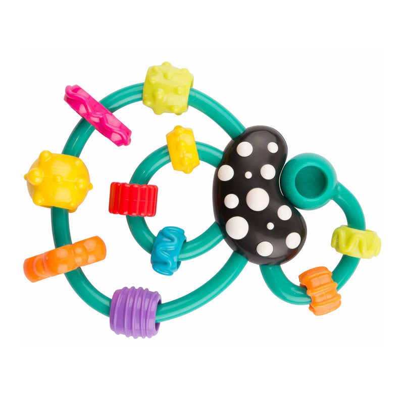Playgro Swirly Teething Rattle