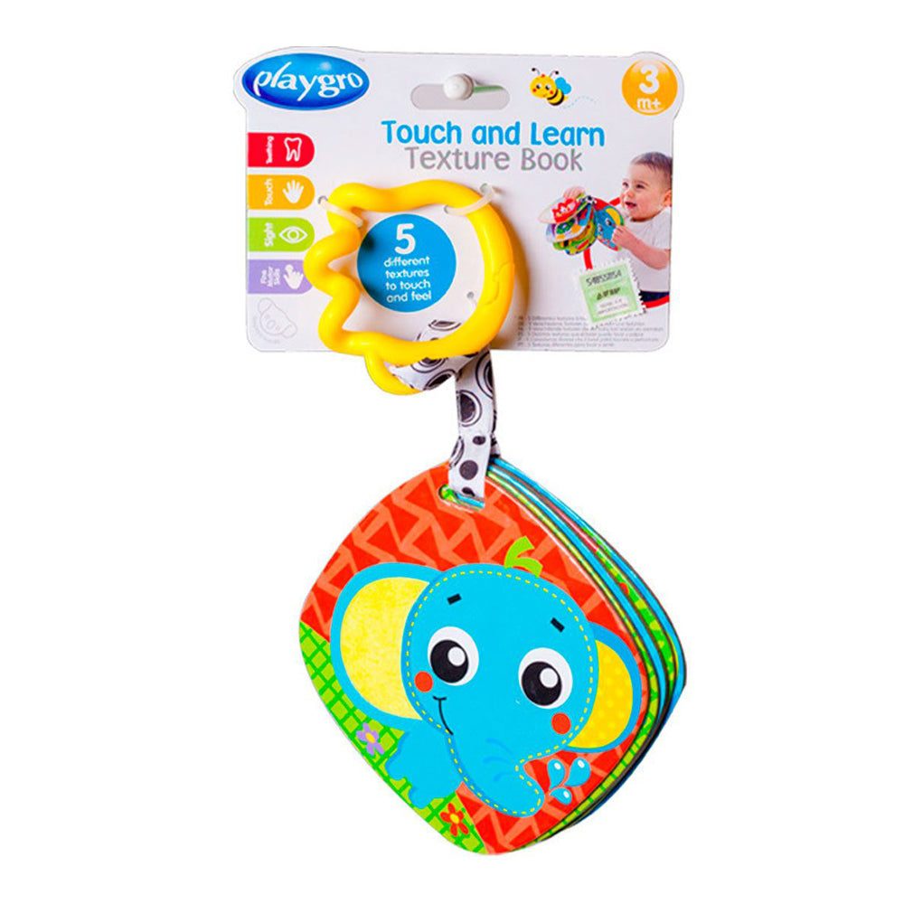Playgro Touch and Learn Texture Book