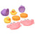 Playgro Bathtime Squirtees 8pk- Girl Version