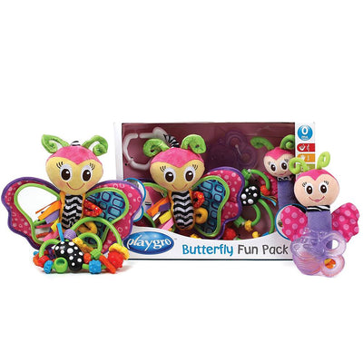 Playgro Butterfly Gift pack with Keys