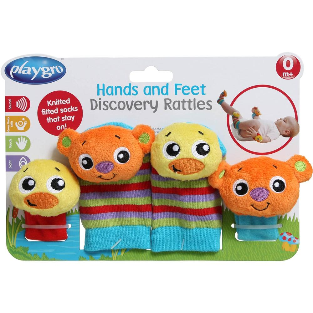 Playgro Hands & Feet Discovery Rattles