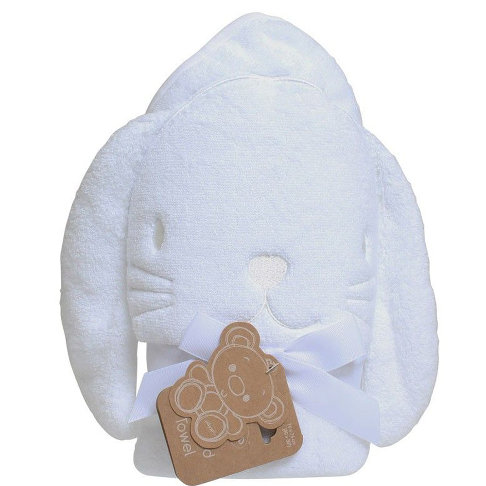 Playgro Hooded Towels - Bunny