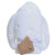 Playgro White Bunny Hooded Towel