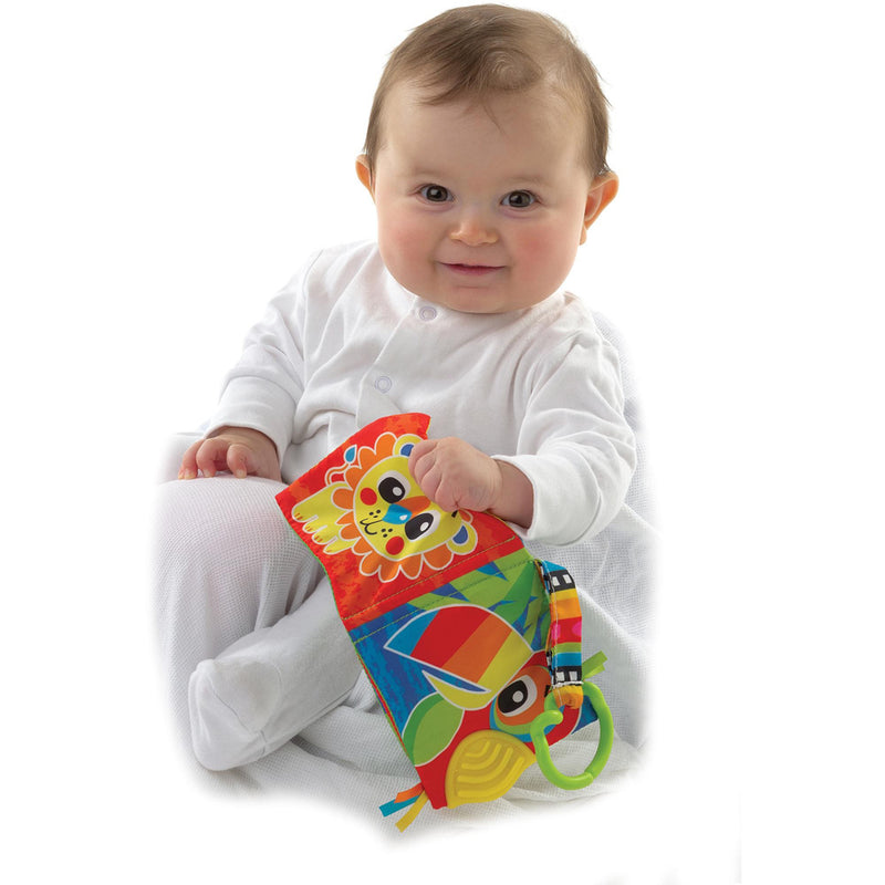 Playgro Jazzy Jungle Teether Book