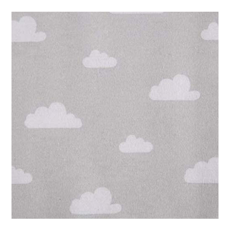 Baby Loves Playgro Flannel Wrap 2 pieces - Cloud Grey