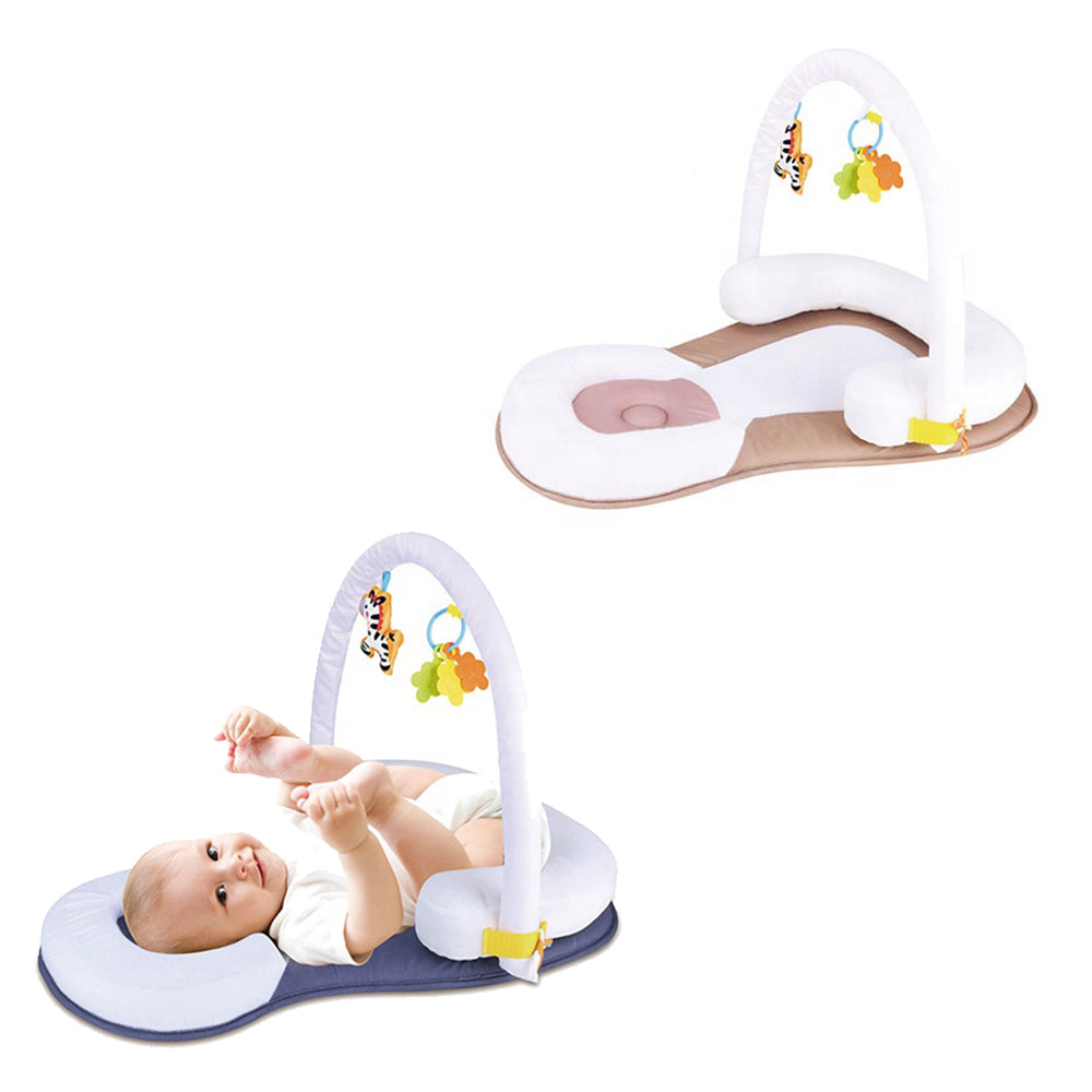 Potable sleep positioner with toys