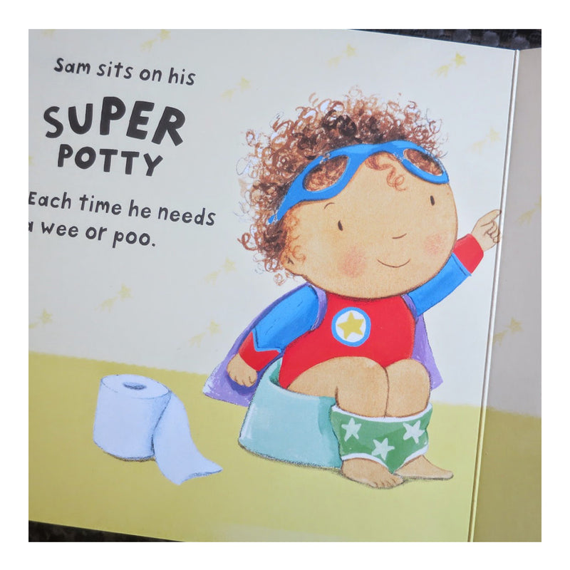 Potty Hero Board Book