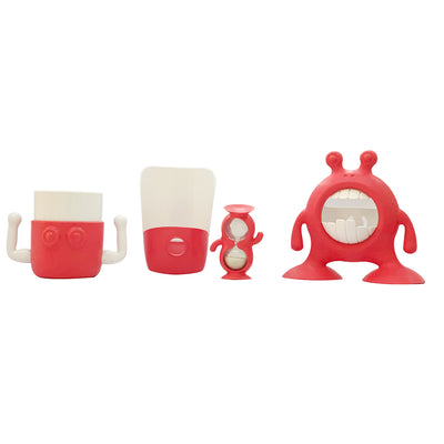 Prince LionHeart Eyefamily Bathroom Set - Fuchsia