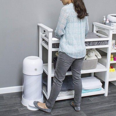 Prince LionHeart Twist'r Diaper Disposal System- Outsmart Odours - White