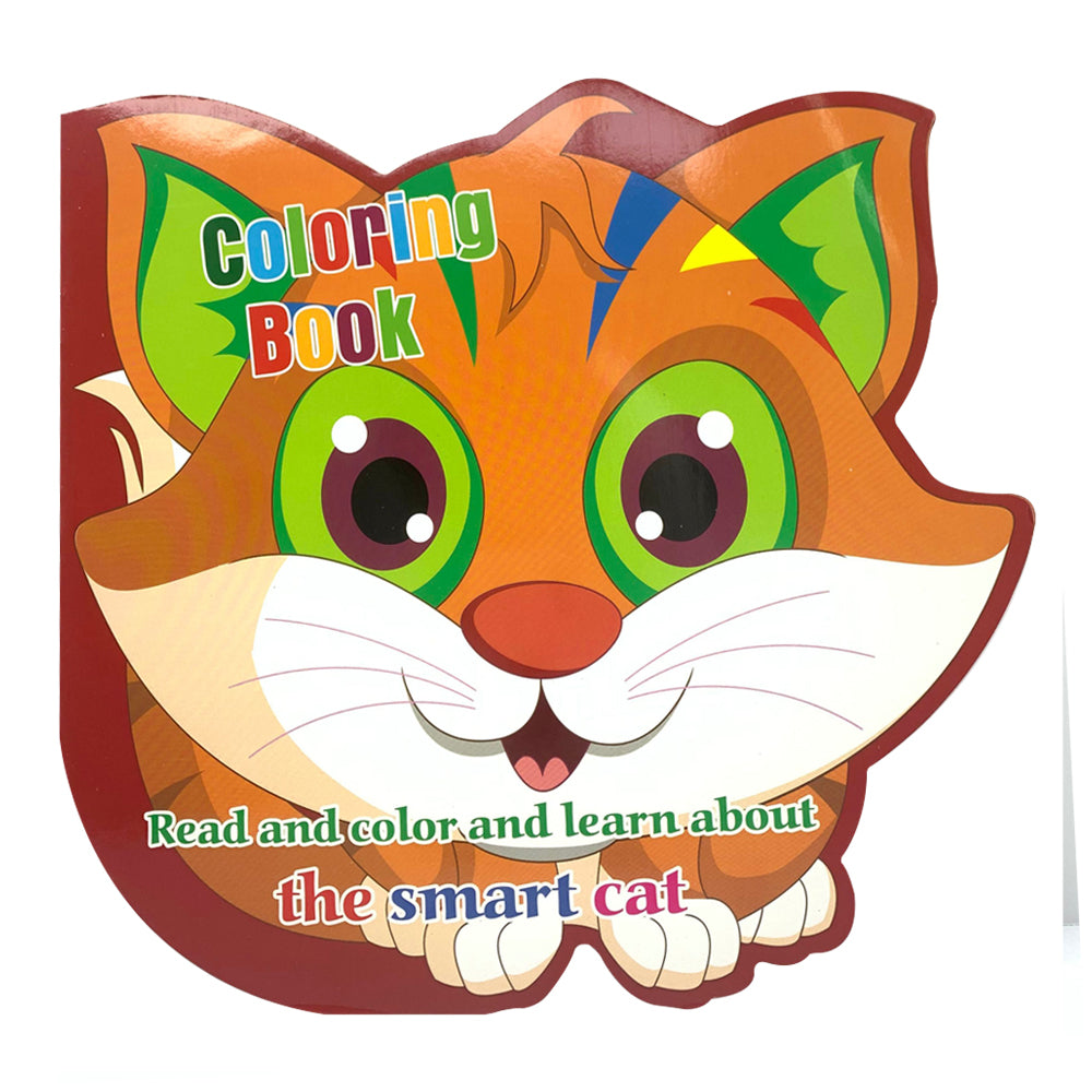 Read, Color & Learn, The Smart Cat
