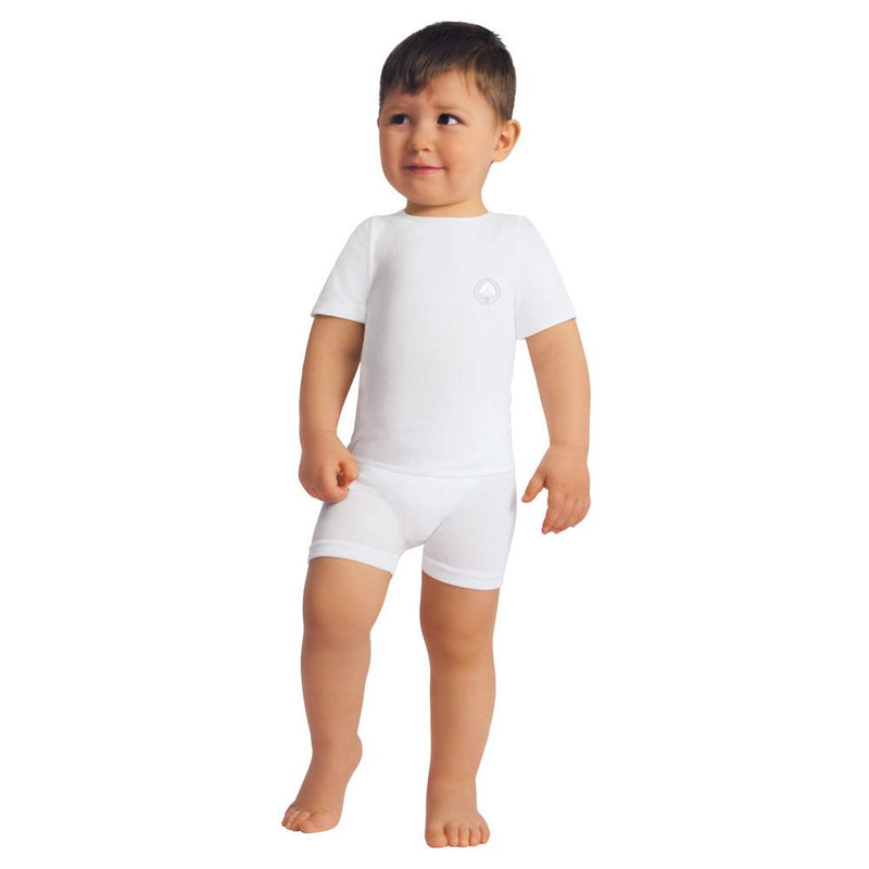 Relaxsan Baby Cotton Boys & Girls Short-Sleeved Vest, 6-36 Months