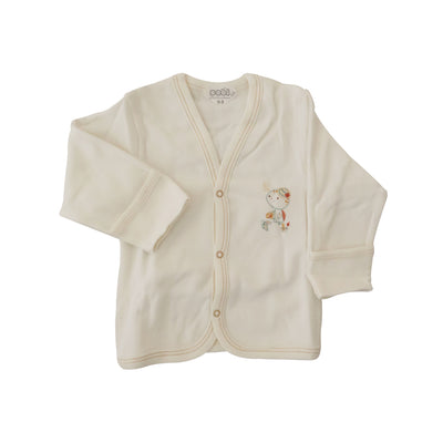 SEBI- Cotton 2-pieces knitted cardigan set, Explore Beige