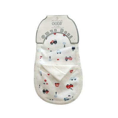 SEBI Burping Shoulder Towel, Cars