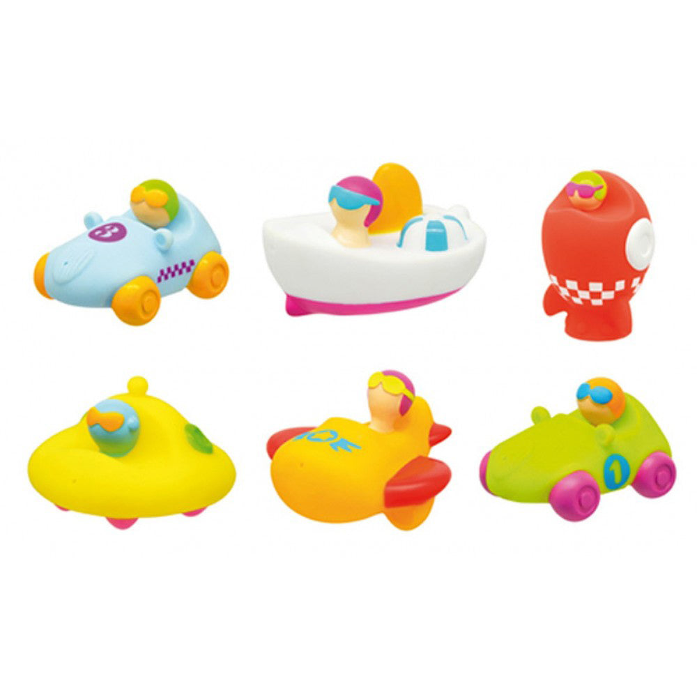 Olmitos Set 6 Bath Toys Squirters Adventure