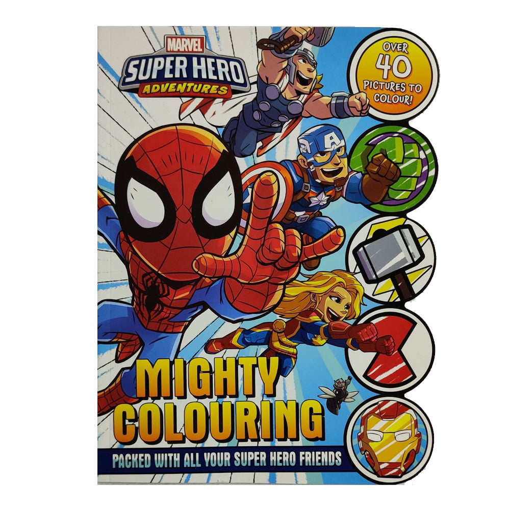 Marvel - Super Hero Adventures: Mighty Colouring