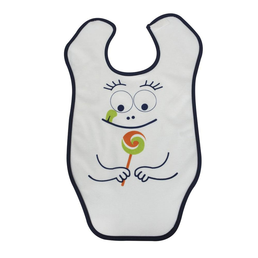 Sevi Bebe Big Towel Bib, Blue