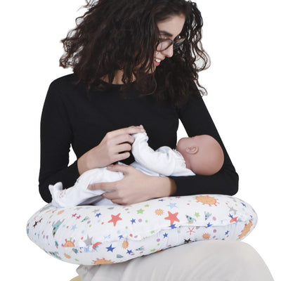 Sevi Bebe Eco Nursing Cushion, Happy Planet