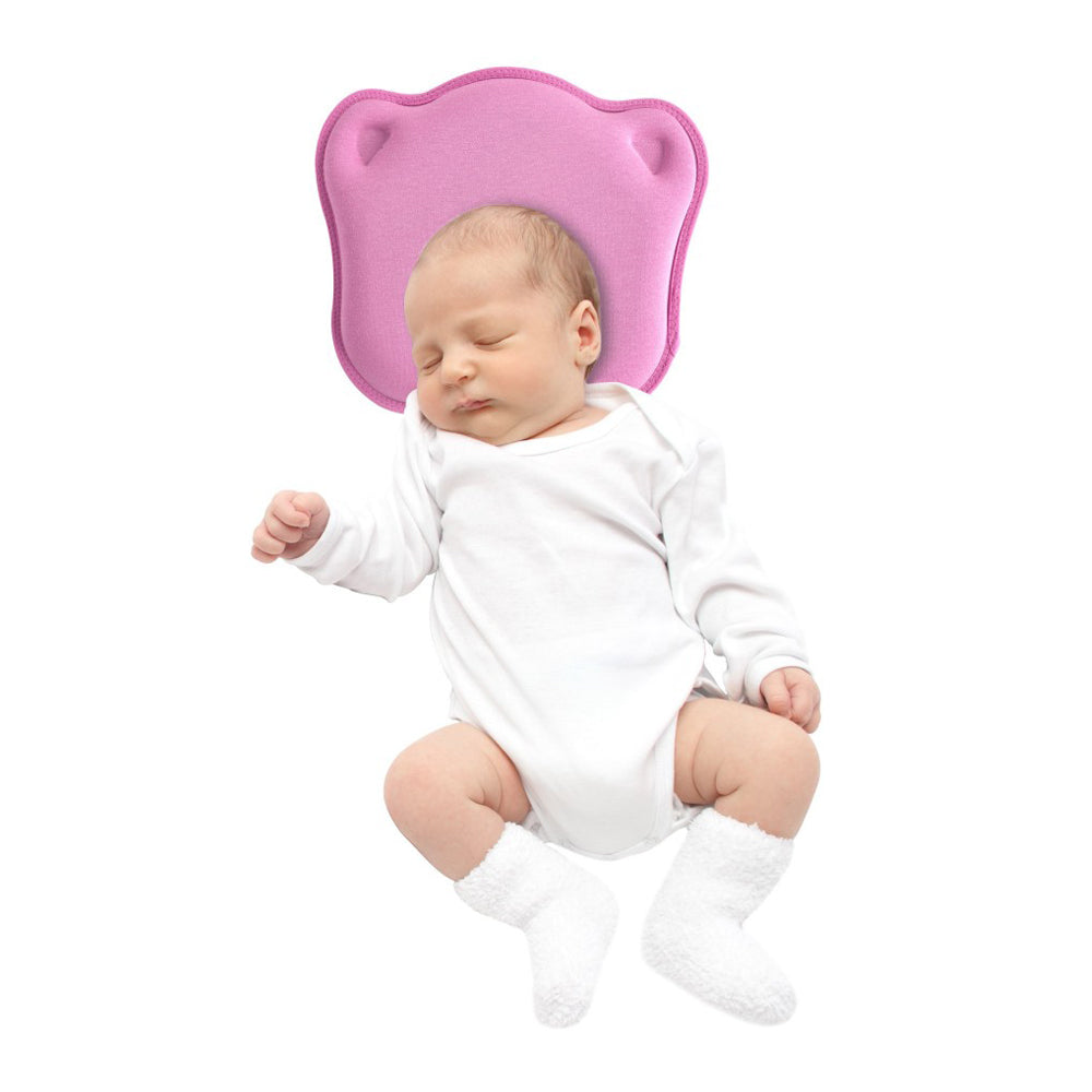 Sevi Bebe  Baby Head Shaping Pillow - Pink