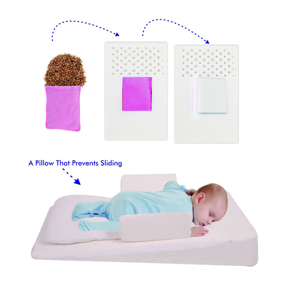 Sevi Bebe Sevi Bebe Multifunctional Baby Bed For Reflux & Gas Pain - White