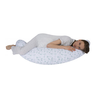 Sevi Bebe Multifunctional Pregnancy & Breastfeeding Pillow with Internal Cushion - Leaf Pattern