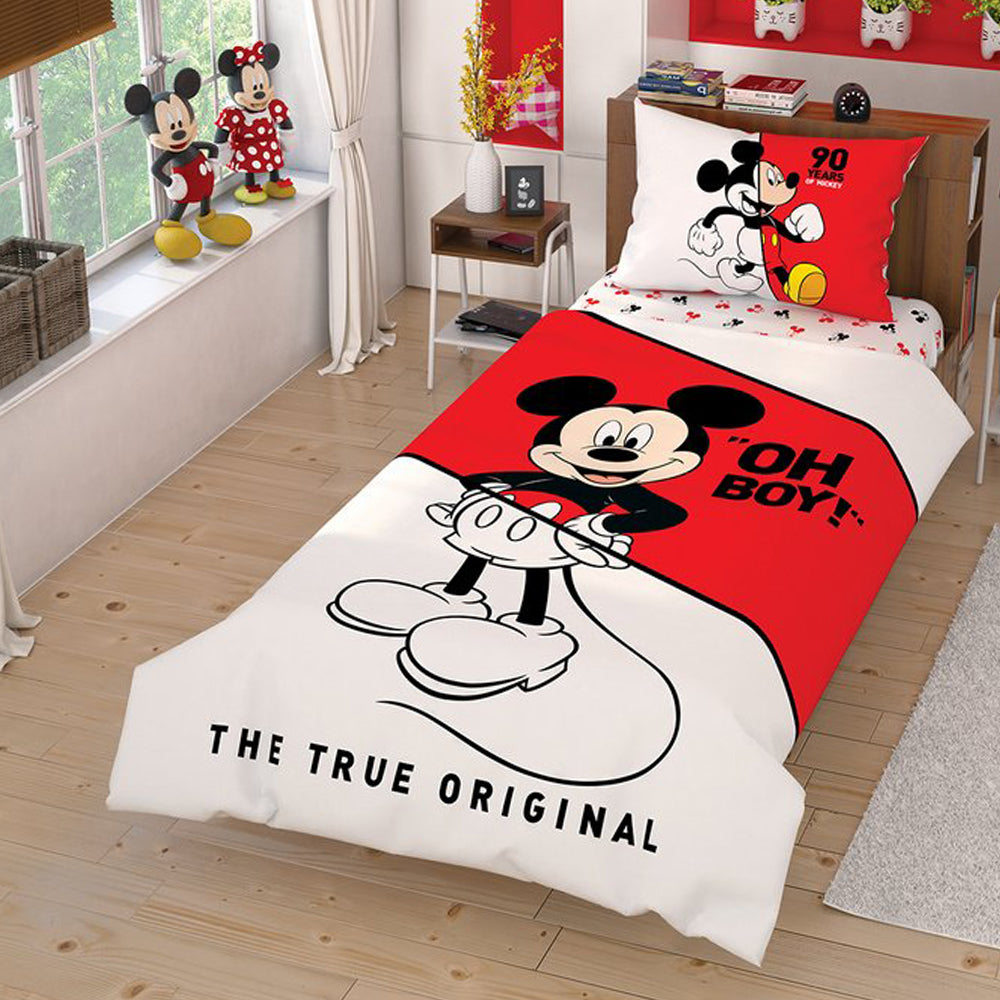 Tac Single Mickey Duvet Cover Set