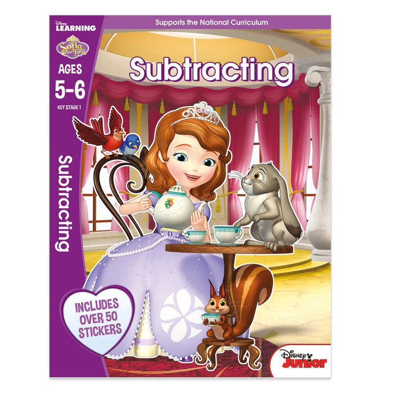 Sofia the First - Subtracting, Ages 5-6