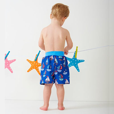 Splash About Happy Nappy Board Shorts Set Sail