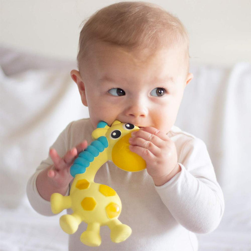 Playgro Squeak and Soothe Natural Teether
