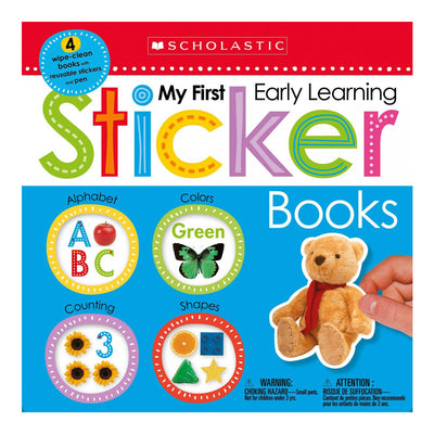 My First Early Learning Sticker Books Box Set: Scholastic Early Learners