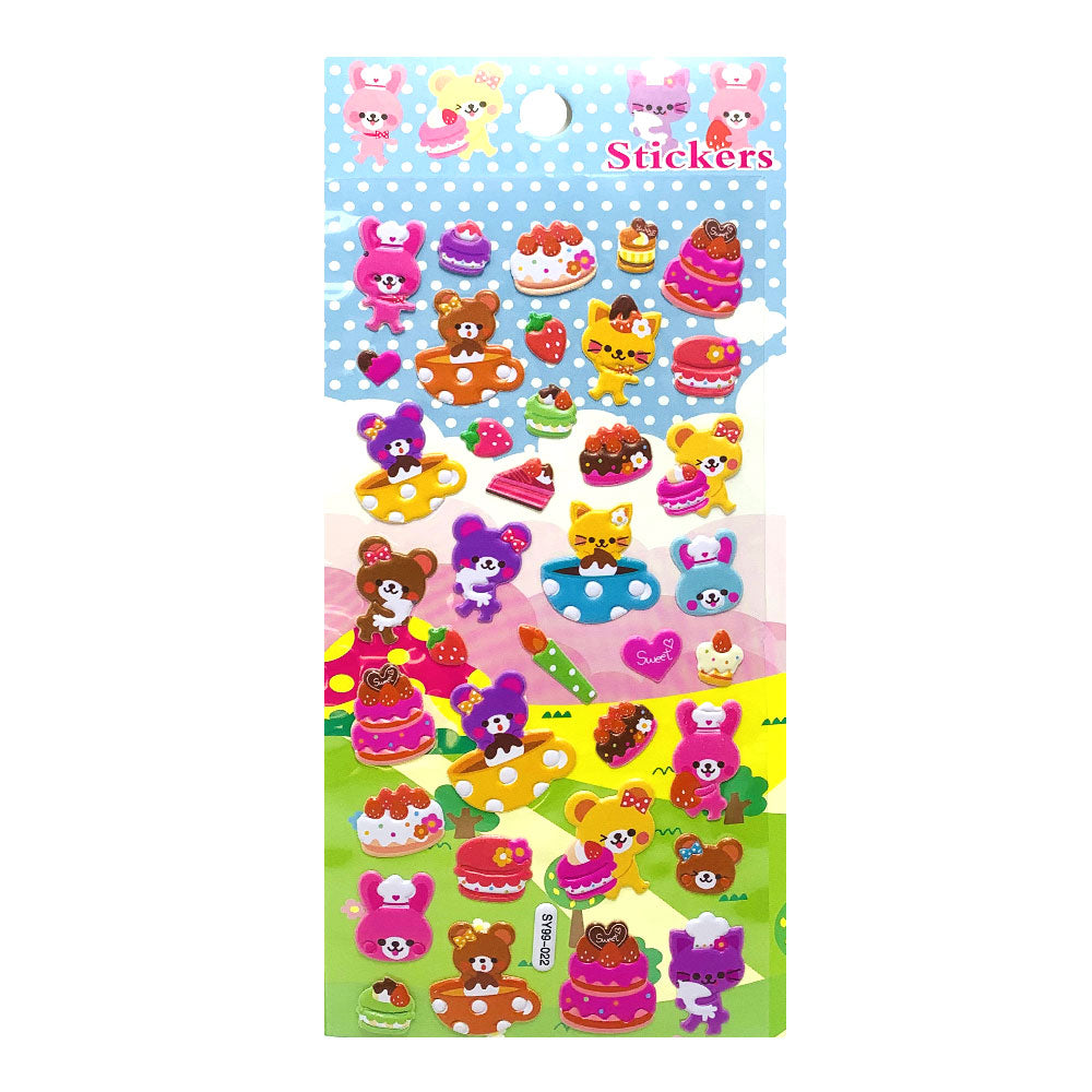 Stickers Happy Cakes, SY99-022