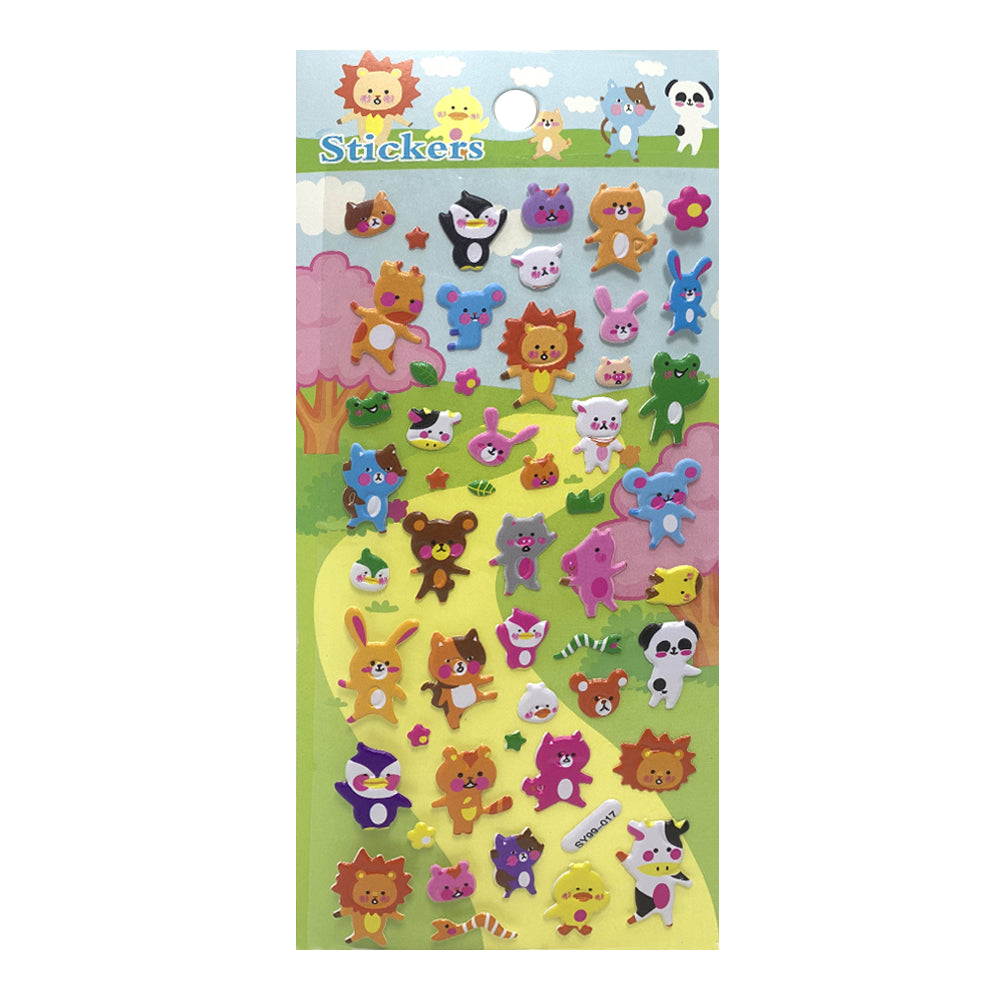 Stickers Happy Animals, SY99-017
