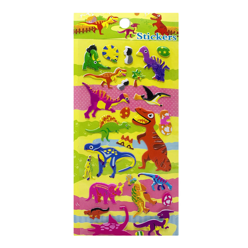 Stickers, Dinosaurs !