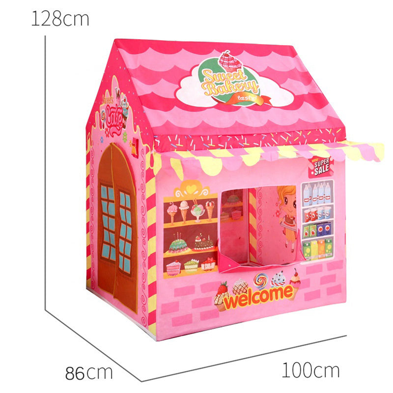 Sweet Bakery Tent Set - Pink
