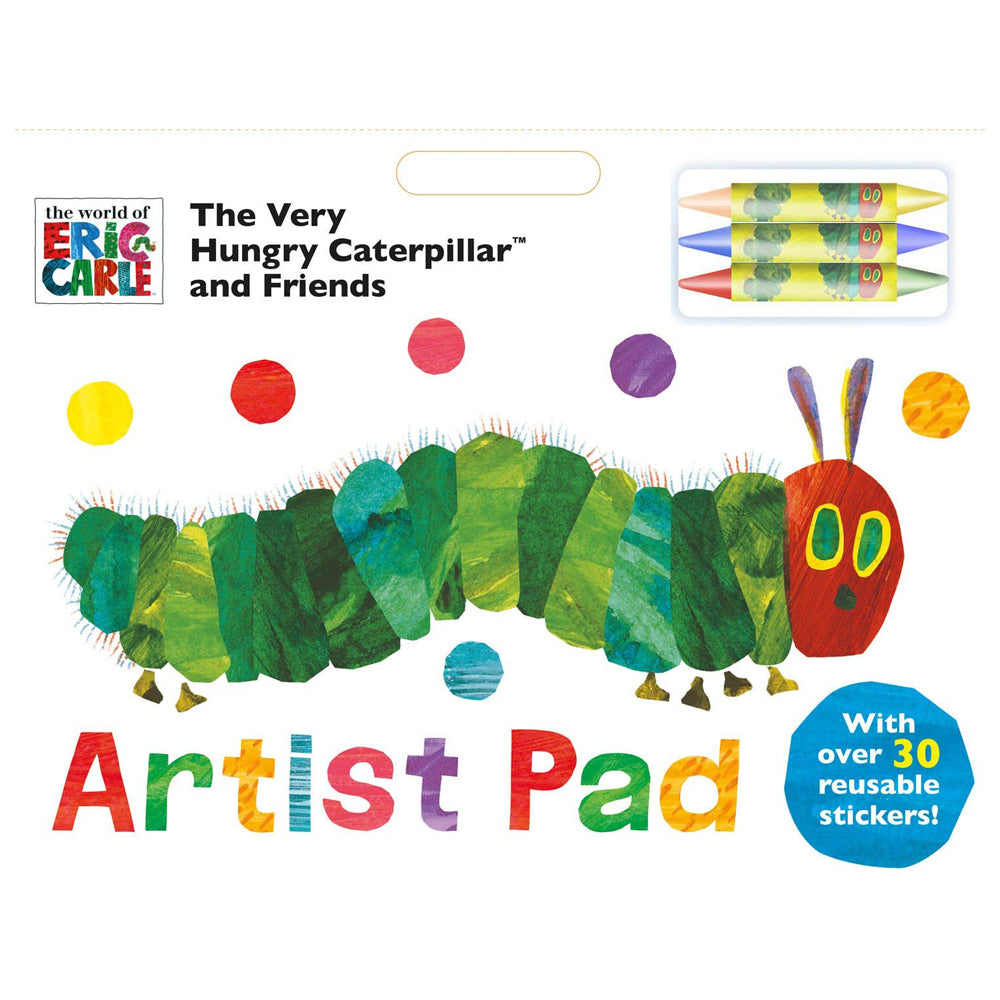 THE VERY HUNGRY CATERPILLAR ARTIST PAD