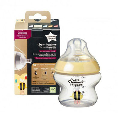 Tommee Tippee Closer to Nature 1 x 150ml - Yellow