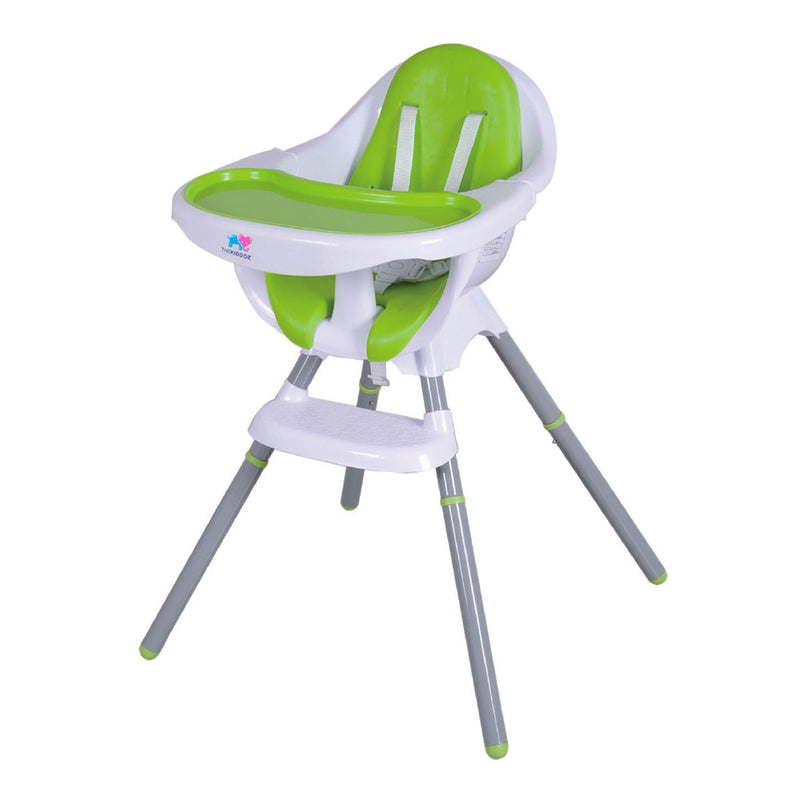 TheKiddoz Comfy Tuck me in High Chair, Green