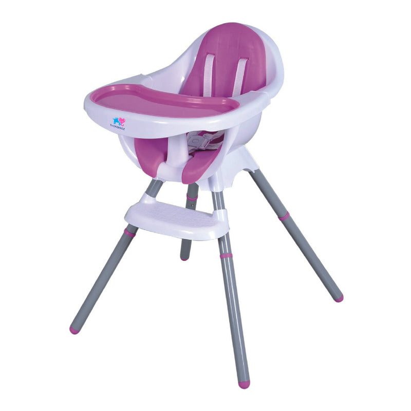 TheKiddoz Comfy Tuck me in High Chair, Pink