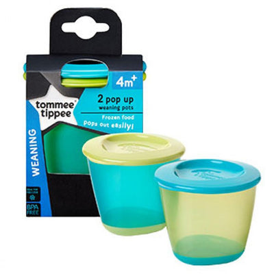 Tommee Tippee 2 pop up weaning pots