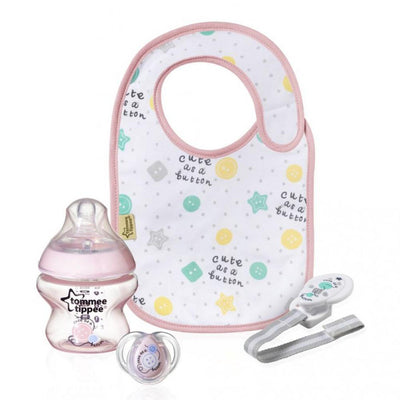 Tommee Tippee Closer to Nature Small Gift Set - Pink