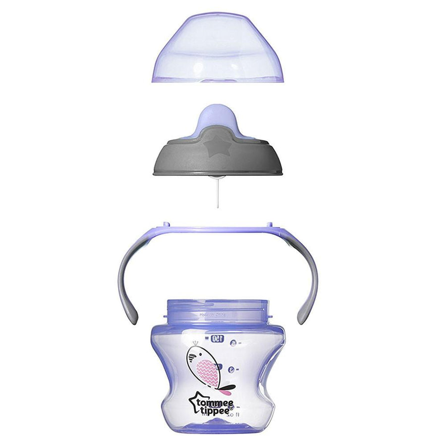 Tommee Tippee Explora Weaning First Cup Purple, 4 Months+