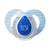 Tommee Tippee Closer to Nature Moda Soother Blue, 6-18 Months, Pack of 1