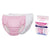 Sevi Bebe Training Pants - 2 Pieces - Pink and White