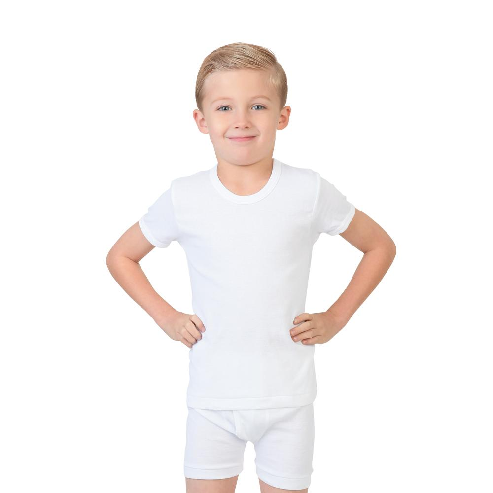 Try Boy Shirt and Boxer Set White, 3-4 Years