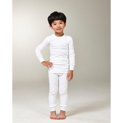 Try Boy Thermal Set White, 3-4 Years